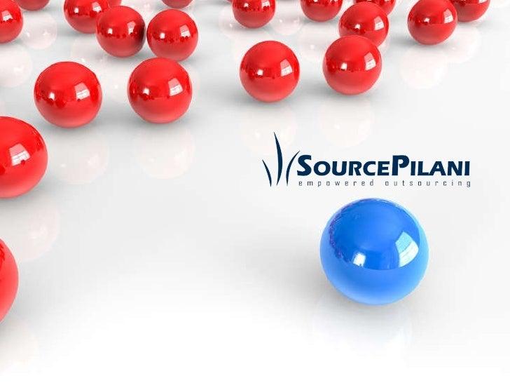 SourcePilani Corporate Presentation