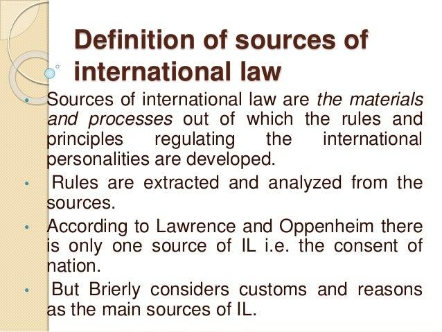 Customary International Law Essays