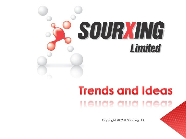 Sourxing Trends And Ideas