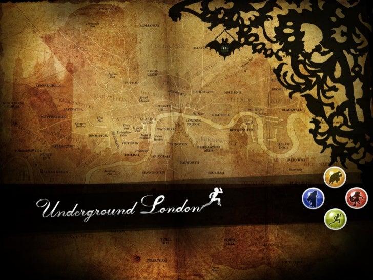 Underground London | Le jeu | Soutenance de présentation du jeu