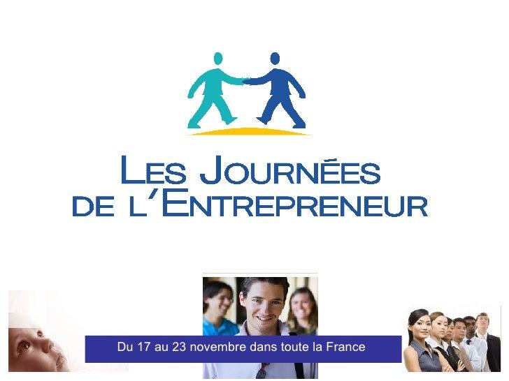 Soutenir Les  Journees de l'Entrepreneur