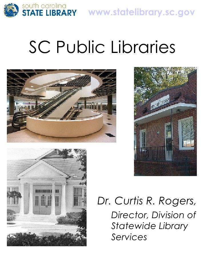 South Carolina Public Libraries