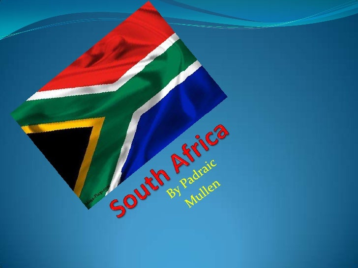 South Africa South Africa is the most southerly country in Africa It's capital is johannesburg It's currency is the Ran...