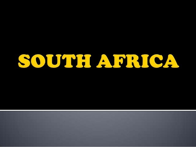     Adopted: 27 April 1994 Designed by: Frederick Brownell, former State Herald of South Africa Design :Rectangular fla...