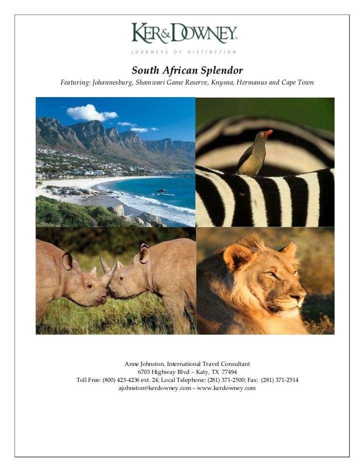 South african splendor