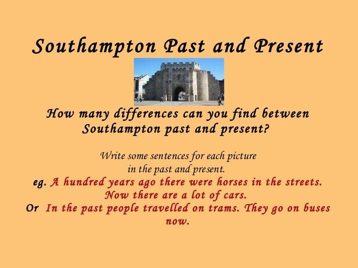 Southampton - Past and Present