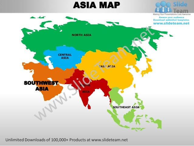 ASIA MAP                  NORTH ASIA        CENTRAL          ASIA                               EAST ASIASOUTHWEST        ...