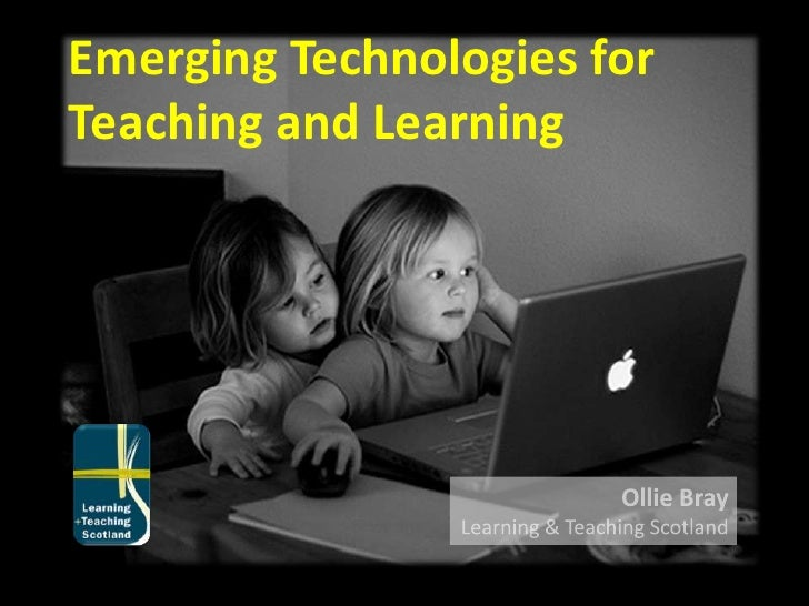 Emerging Technologies for Learning