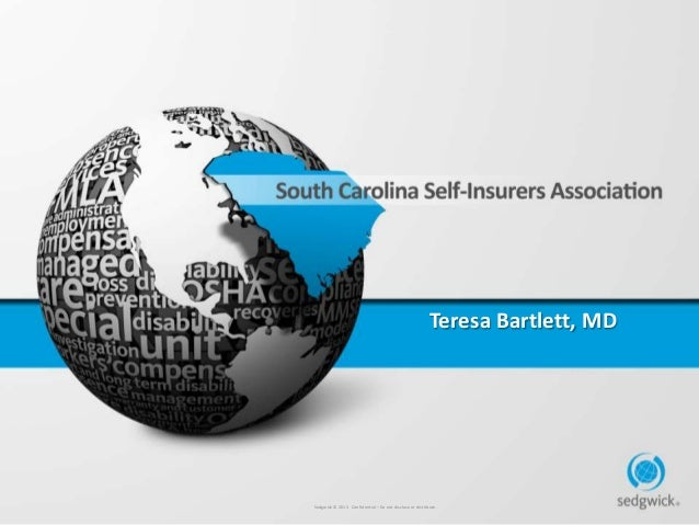 South Carolina Self-Insured Conference 2013