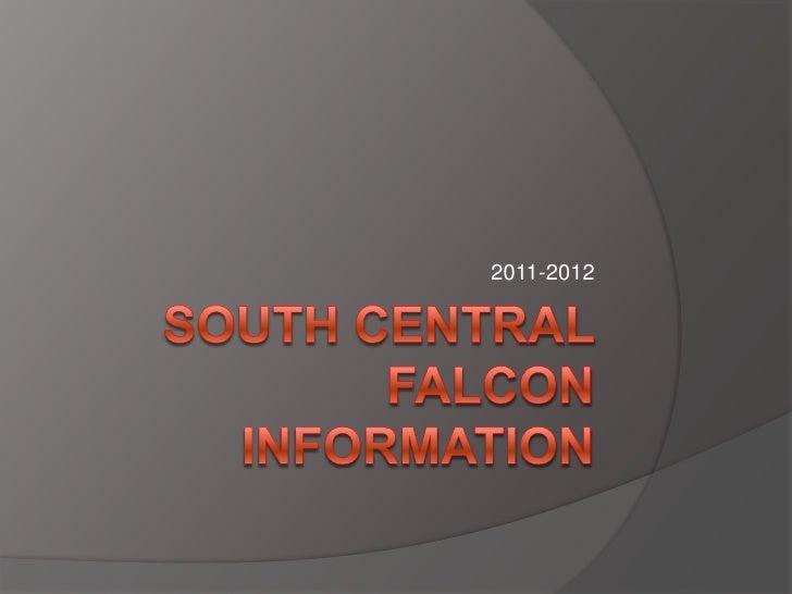 South central falcon