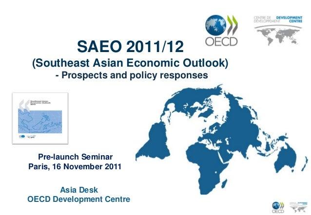 Southeast Asian Economic Outlook 2011 12
