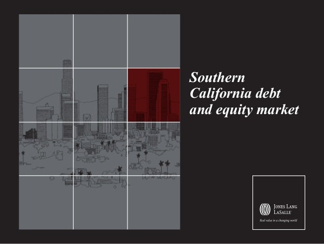 Southern California debt and equity market