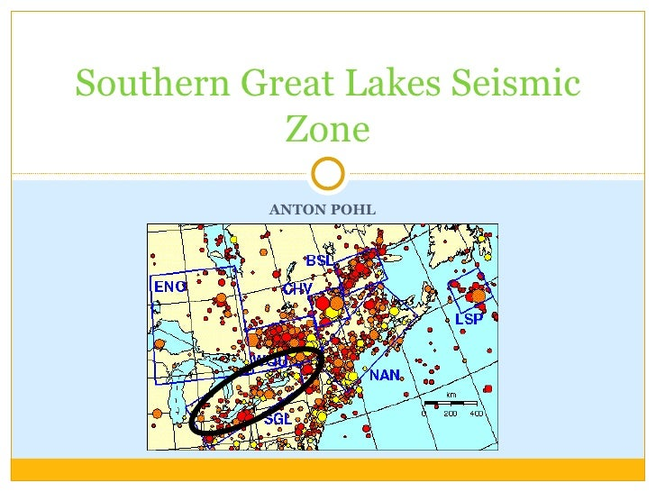 ANTON POHL Southern Great Lakes Seismic Zone