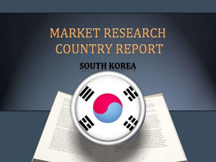 Southkorea  country report