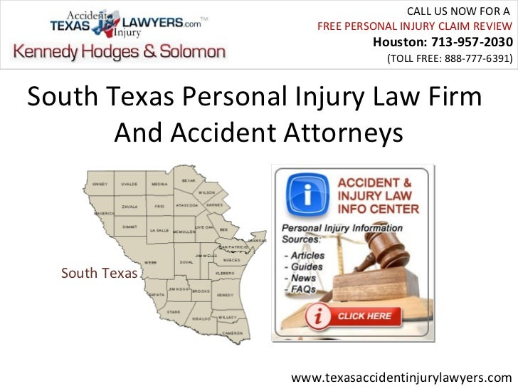 South Texas Personal Injury Law Firm And Accident Attorneys