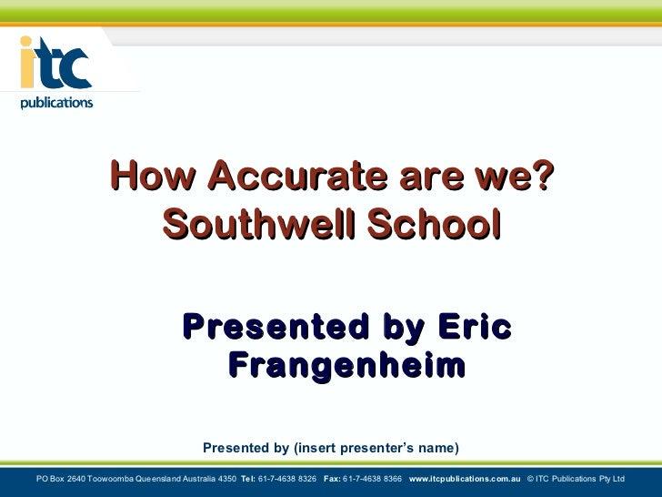 Connected Eric Frangenheim Keynote