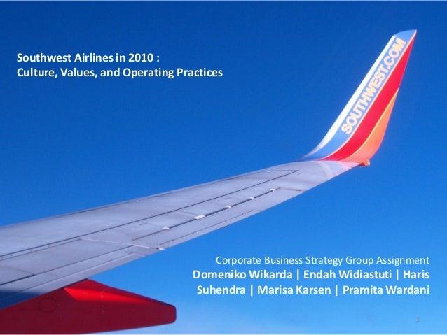 southwest airlines case study slideshare Southwest airlines case study analysis created by vivek r, nit calicut,during an internship with prof sameer mathur, iim lucknow.