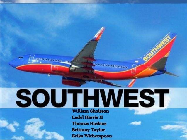 Southwest airlines case team power point