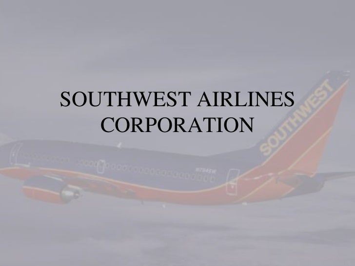 southwest airlines corporation Gary kelly, ceo southwest airlines our purpose to connect people to what's important in their lives through friendly, reliable southwest corporate travel.