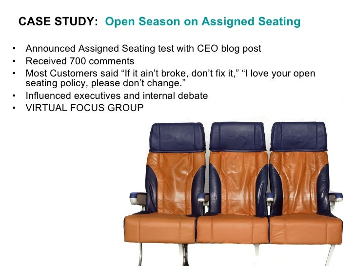 Can you save seats with Southwest Airlines seating