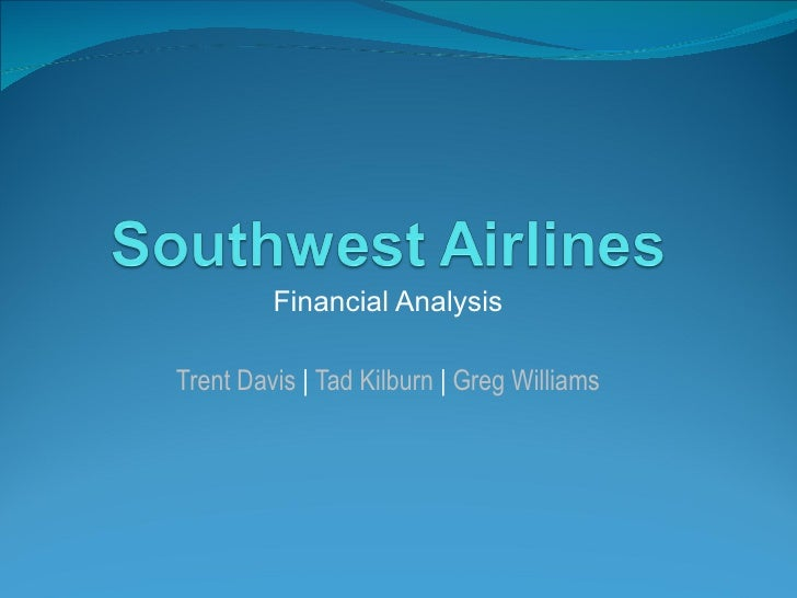 Southwest Airlines Accounting Analysis