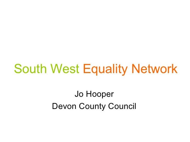 Jo Hooper - Devon County Council
