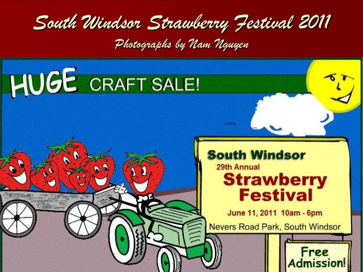 South windsor strawberry festival 2011