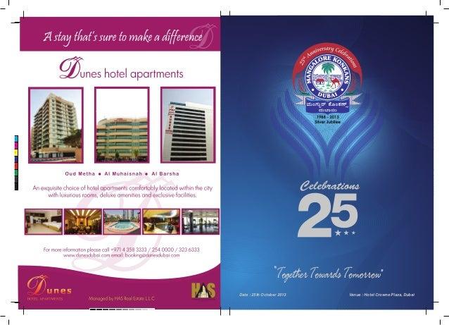 Mangalore Konkans Dubai-Souvenir released on 25-10-2013