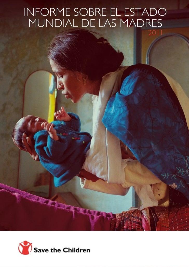 Informe Save the Children estado mundial de las madres