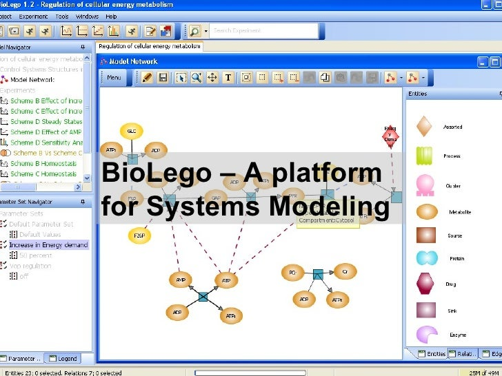 BioLego – A platform for Systems Modeling