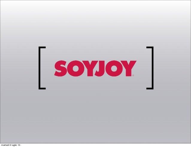 IED - Progettazione 3 - SoyJoy