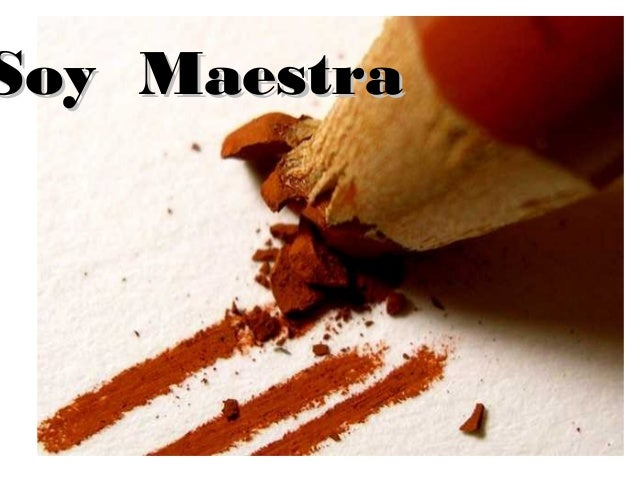Soy MaestraSoy Maestra