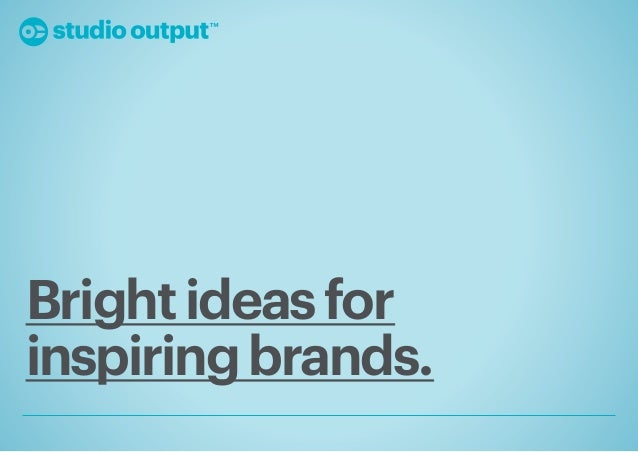 Studio Output Youth Trend Report