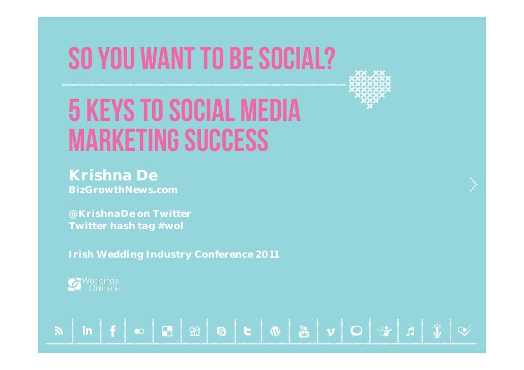 So you want to be social - 5 steps to creating your social media marketing plan for businesses in the wedding industry