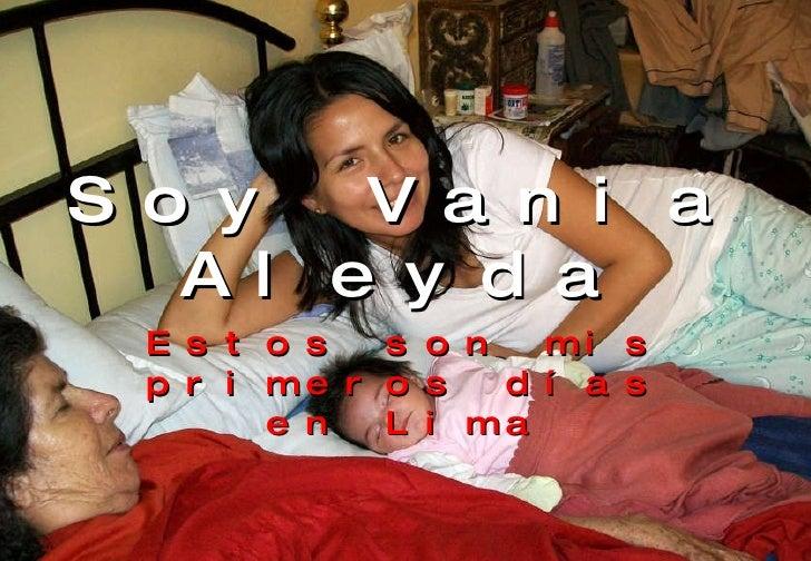 Soy Vania Aleyda