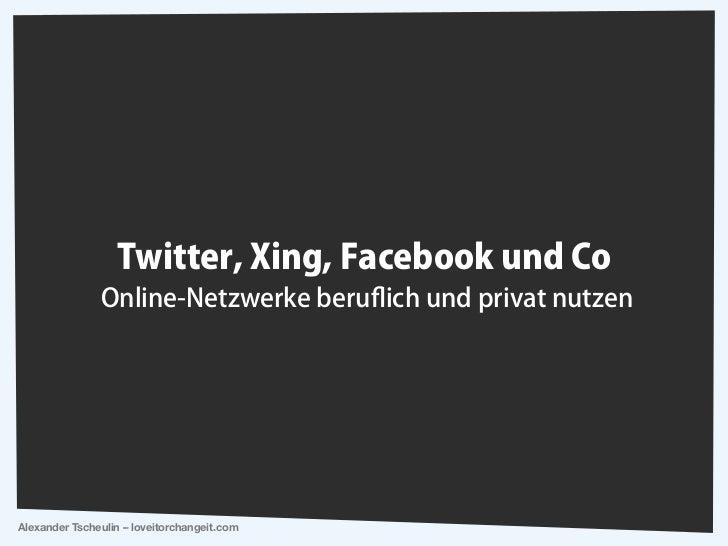 Alexander Tscheulin – loveitorchangeit.com
