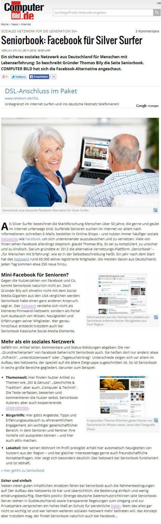 Soziale Netzwerke für die Generation 50plus