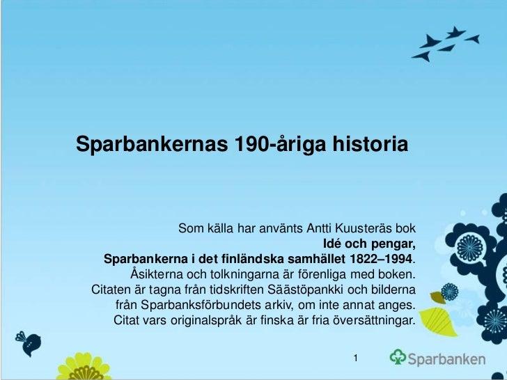 Sparbankernas historia_sve