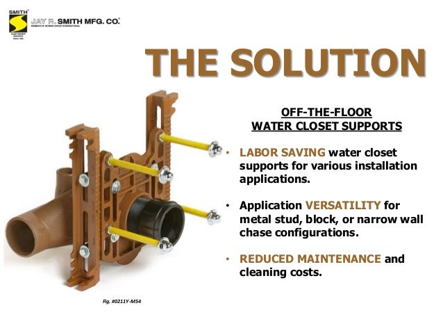 Sales Presentation Water Closet Supports By Jay R Smith