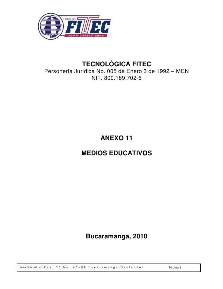 Sp023 anexo 11 medios educativos