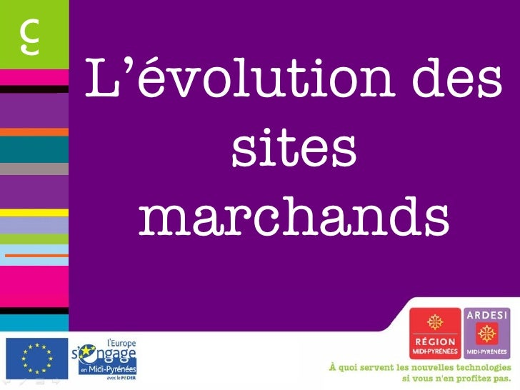 L'évolution des sites marchands 9