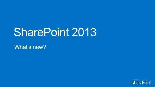 Amplexor Sharepoint 2013 seminar