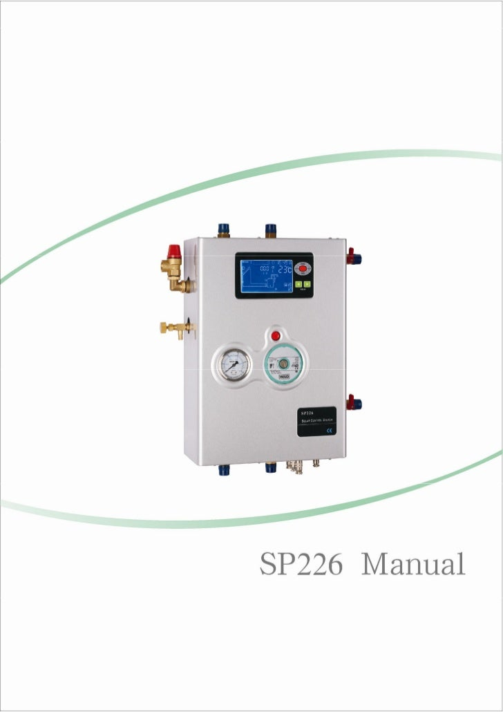 SP226 Manual+Ultisolar New Energy Co Ltd Solar Pump Station Solar Water Heater Controller Smart Controller Woolf Zhang Ultisolar@gmail.com.pdf