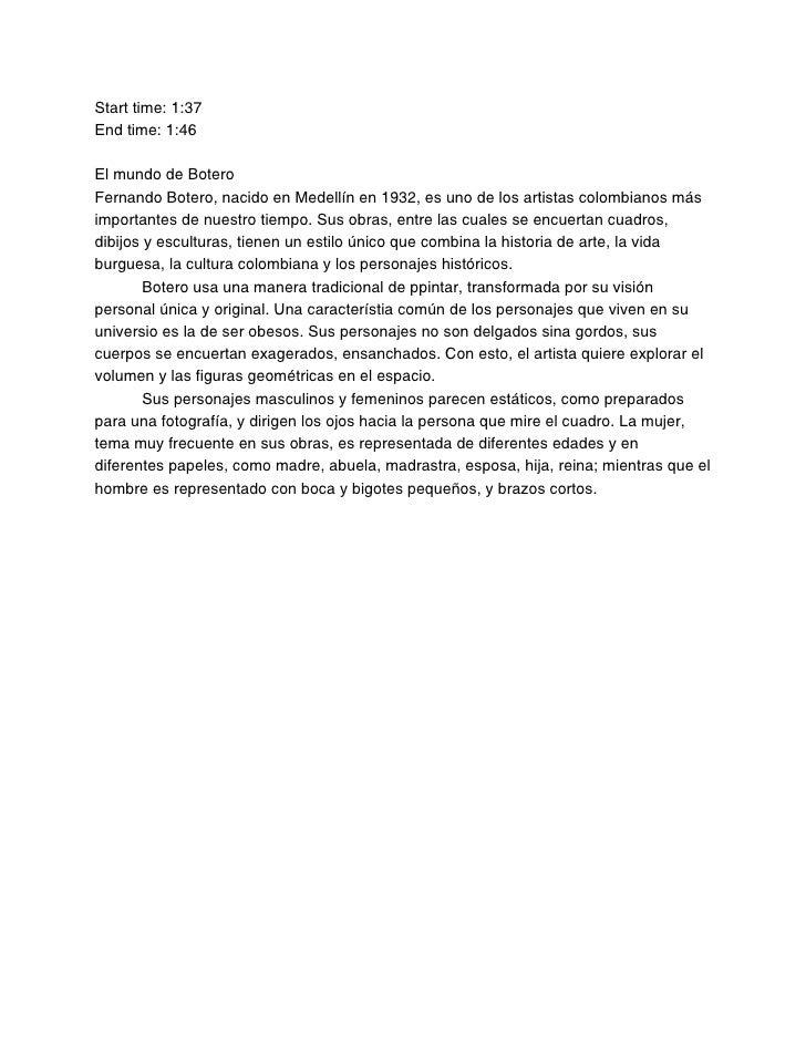 Spanish 3 Baseline Typing 1