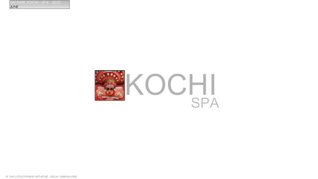 Spa for Park Kochi Kerela
