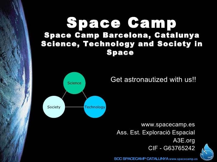 Space Camp - Barcelona - English