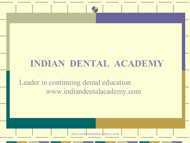 Space closure /certified fixed orthodontic courses by Indian dental academy