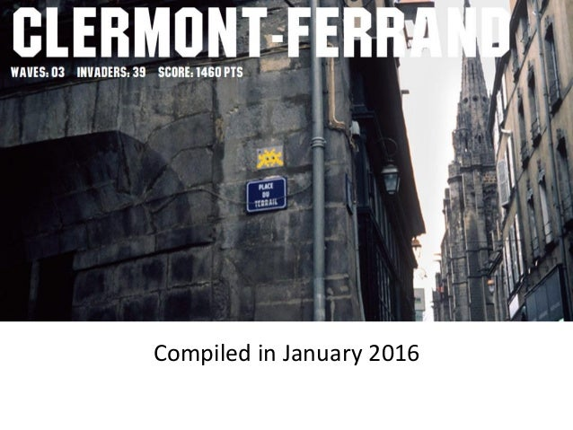 Compiled in January 2016