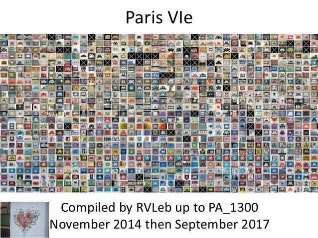 Paris VIe Compiled by Hervé In November 2014