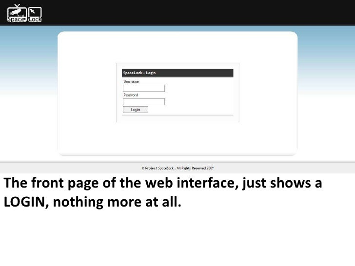 For more info - Ideamonk.blogspot.com          ideamonk@gmail.com     The front page of the web interface, just shows a LO...
